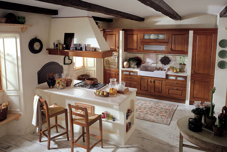 Febal Casa Tregi Arreda - cucina classica ROSA - Roma