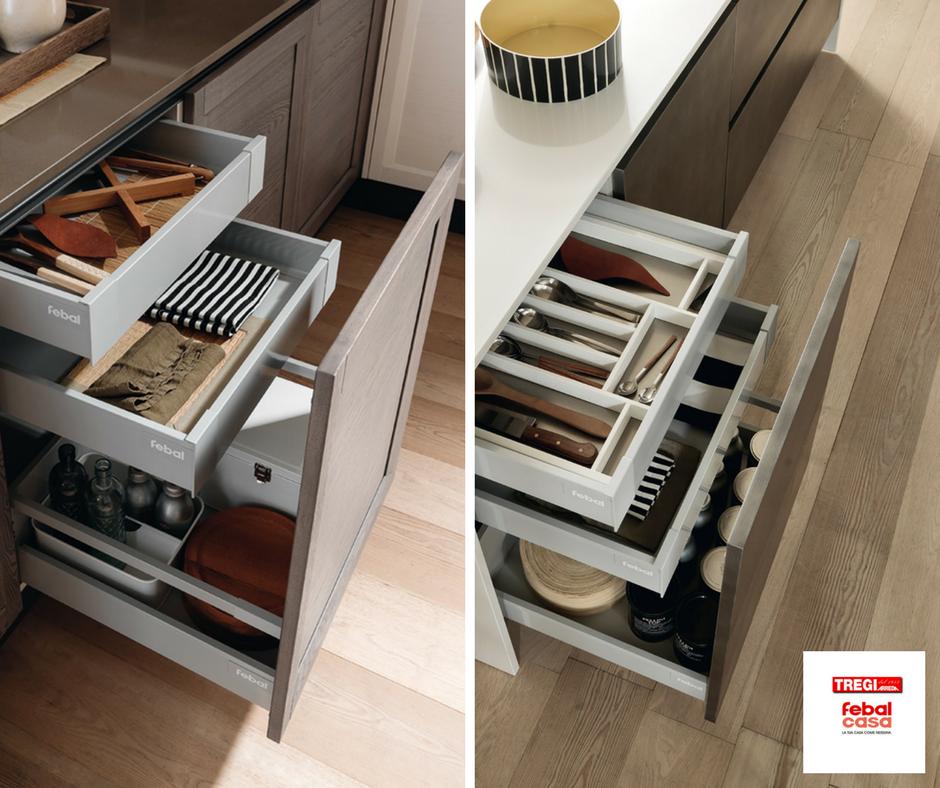 4 idee salvaspazio per organizzare al meglio lo spazio in cucina